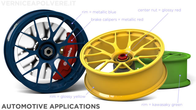 Car and motorcycle rims